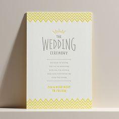 結婚式 招待状 Lemon soda|LOUNGE WEDDINGの結婚式 招待状
