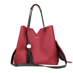 Jasmine Bag - Ruby Red