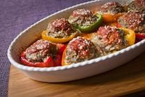 Stuffed Peppers Recipe #GamedayParmesan _FPO_recipe