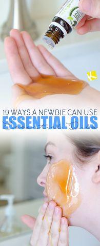 Essential oil tips!