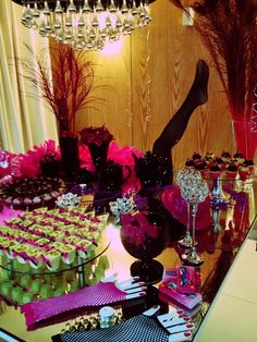 . Burlesque Party, Party Themes, Themed Parties, Bouquet, Birthday Cake, Inspiration, Bar, Lingerie Party, Theme Cakes