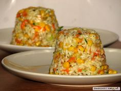 Bruschetta, Rice Porridge, Vegetable Rice, Warm Salad, Polish Recipes, Fried Rice, Cake Recipes, Food And Drink, Cooking Recipes