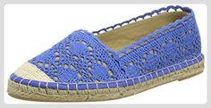 Buffalo Shoes 327675 COTTON, Damen Espadrilles, Blau (BLUE), 40 EU - Espadrilles für frauen (*Partner-Link)