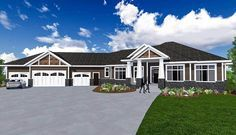 Craftsman House Plan with 3 Season Room - 81660AB | Architectural Designs - House Plans