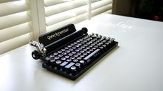 Many of us probably like how a typewriter looks, but sadly have no need for it. After all, computers and tablets make it easy to record our thoughts digita