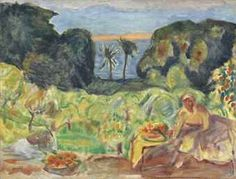 Jardin méditerranéen. Pierre Bonnard.