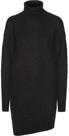 Acne Studios - Daija Knitted Turtleneck Sweater Dress - Black fefae0f2a