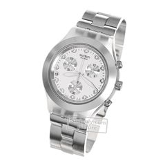 fd0697bc7db Swatch Irony SVCK4038G Full-Blooded Silver watch
