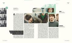 Naive • Revista / Magazine by Jackie Schaab, via Behance
