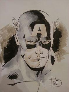 Captain America by Lee Weeks *