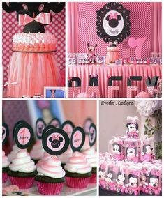 Minnie Mouse themed birthday party via Kara's Party Ideas KarasPartyIdeas.com #minniemouseparty (2)