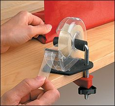 Tape Clamp, The Gift Wrapper's Assistant