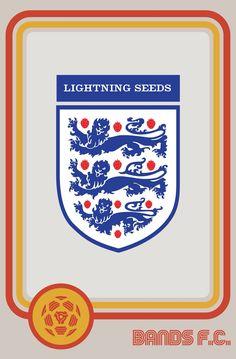 England / The Lightning Seeds Conspiracy, Porsche Logo, Lightning, Albums, Random Stuff, Seeds, Playing Cards, England, Concept