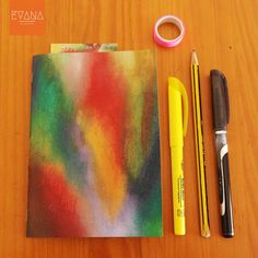 Cetus  Handmande and Handpainted Notebook/Sketchbook