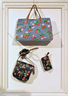 Cath Kidston strawberry bag