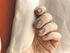 Nomadic D.: sparkly nude