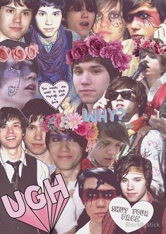 ryan ross collage THESE ARE AMAXZING O THINK THIS IS JUST STUFF THAT I WANT NOW OKAY COOL