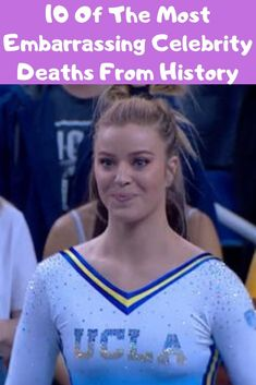10 Of The Most Embarrassing Celebrity Deaths From History Gymnastics Tricks, Olympic Gymnastics, Funny Fails, Funny Jokes, Hilarious, Wtf Fun Facts, Fascinating Facts, Celebrity Deaths, Florida Girl