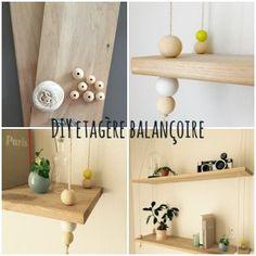 DIY : étagère balançoire scandinave