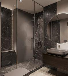 Two bathroom design ideas Neutral Bathrooms Designs, Bathroom Design Luxury, Diy Bathroom Decor, Modern Bathroom Design, Luxury Interior Design, Modern Small Bathrooms, Bathroom Bath, Modern Farmhouse Bathroom, Vanity Decor