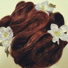 More Twirls & Swirls! Perfect wedding hair, prom hair, or any special event updo. Asthecurlturns.com Facebook.com/victoryroll