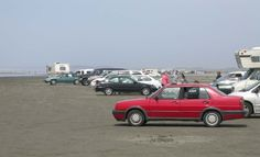 Ocean Shores, WA  Driving and Parking on the beach allowed but be careful!