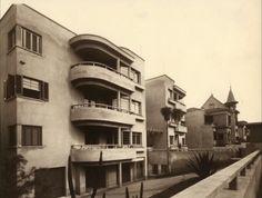 """Edifício Nicolau Schiesser, São Paulo. Arquiteto Rino LeviFoto divulgação [""""Rino Levi, arquitetura e cidade""""]"""