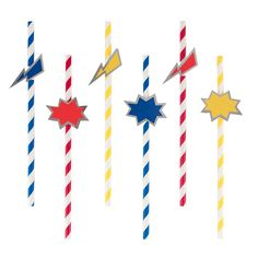 Shop these cool My Little Day superhero straws to help create the most amazing Super Hero or Marvel party in the whole Universe! Superhero Party Supplies, Superhero Party Decorations, Superhero Theme Party, 1st Boy Birthday, 1st Birthday Parties, Birthday Ideas, Carton Invitation, Party In A Box, Paper Straws