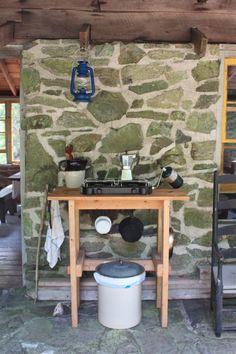 Outdoor kitchen in Maine, Remodelista
