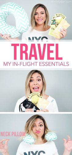 Travel Tips  My in-flight essentials for the plane ride!    http 1447a51e1