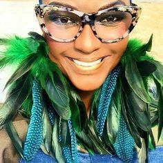 Camo dress by Rose Payton Earrings FASHMOROUS Feather Headpiece, Feather Earrings, Women's Earrings, Camo Dress, Bleach Dye, Beaded Skull, Black Feathers, Down Hairstyles, How Beautiful