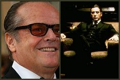 The Role: Michael When Jack Nicholson was approached to play Michael Corleone, he knew that The would be a great movie. Movie Plot Holes, Al Pacino, Jack Nicholson, The Godfather, Great Movies, Hollywood Stars, Funny Photos, Celebrity News, How To Memorize Things