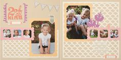 "This scrapbook layout was created using the Cricut® Artbooking cartridge! Contains 700 images grouped into 15 fun themes for layouts and 10 for mini books.The images are specially ""linked"" together to solve proportion problems. www.closetomyheart.com"