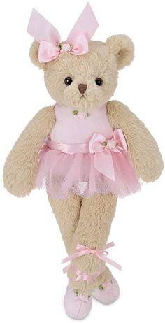 6 Bearington Collection Bearington Baby Cottonball Plush Stuffed Animal Bunny Rabbit Pink