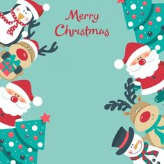 christmas poster Christmas background with Santa Merry Christmas Images, Noel Christmas, Merry Christmas And Happy New Year, Christmas Quotes, Christmas Pictures, Christmas Greetings, Christmas Wreaths, Christmas Crafts, Christmas Decorations