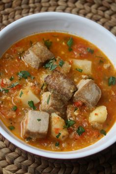 Marmitako Basque Tuna Stew with Peppers and Potatoes