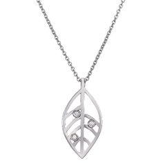 Open Leaf Pendant from Brilliant Earth