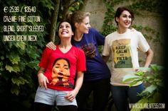 The fit: Crème, fine cotton blend, short sleeved unisex crew neck  €25.99/$35.40  to buy visit: http://www.solamente55.com/products/fiets/ #vintagetees #solamente55