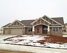 Craftsman Ranch Home Exterior loudoun county va new homes - lovettsville real estate, new homes
