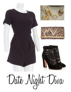 """Date Night Diva"" by burlington ❤ liked on Polyvore"