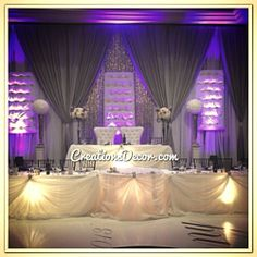 Wedding Decor Gallery | Creations Decor | Decorators