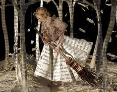 """Su Blackwell, 'The Girl in the Wood' – detail, from her """"Paper Art at the Courtauld Institute"""" exhibition using pages from books. Libros Pop-up, Art Postal, Altered Book Art, Portfolio Book, Book Sculpture, Paper Sculptures, Up Book, Book Crafts, Medium Art"""