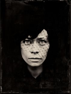 Photography, Large format in People, Portrait, Female, large format camera 18x24, Mentor Panorama, wet plate collodion, ambrotype 18 x24, glass, Model: https://www.facebook.com/Helena-Urban-146439725564852/… http://kolodionowy.blogspot.com   # Black protest # in Polan… - Image #591622