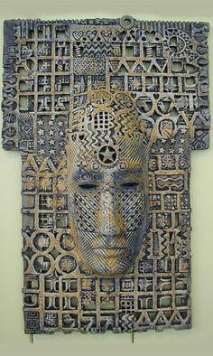 Ceramic mask (MacDonell Ceramics).
