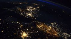 photograph by the astronaut Thomas Pesquet shows Paris at the bottom, with Brussels appearing to the northeast and London due north Space Shows, Astronauts In Space, James Comey, King Arthur, Amazing Pics, Belle Photo, Great Photos, Ny Times, Belgium