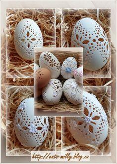 egg easter Carved Eggs, Egg Art, Egg Decorating, Egg Shells, Easter Eggs, Carving, Decoration, How To Make, Honey