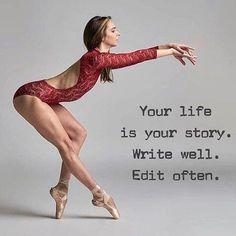 Trendy Ideas For Dancing Ballet Toe Dancer Quotes, Ballet Quotes, Ballerina Quotes, Dance Life Quotes, Short Dance Quotes, Positive Quotes, Motivational Quotes, Inspirational Quotes, True Quotes