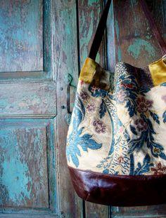 tapestry bag.