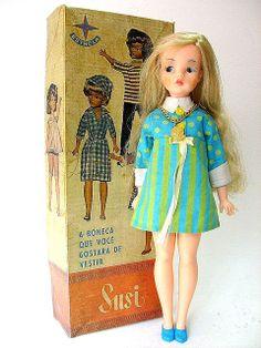 Vintage Susi Estrela Doll ~ 1960's