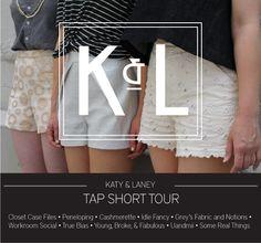 KATY & LANEY TAP SHORTS BLOG TOUR
